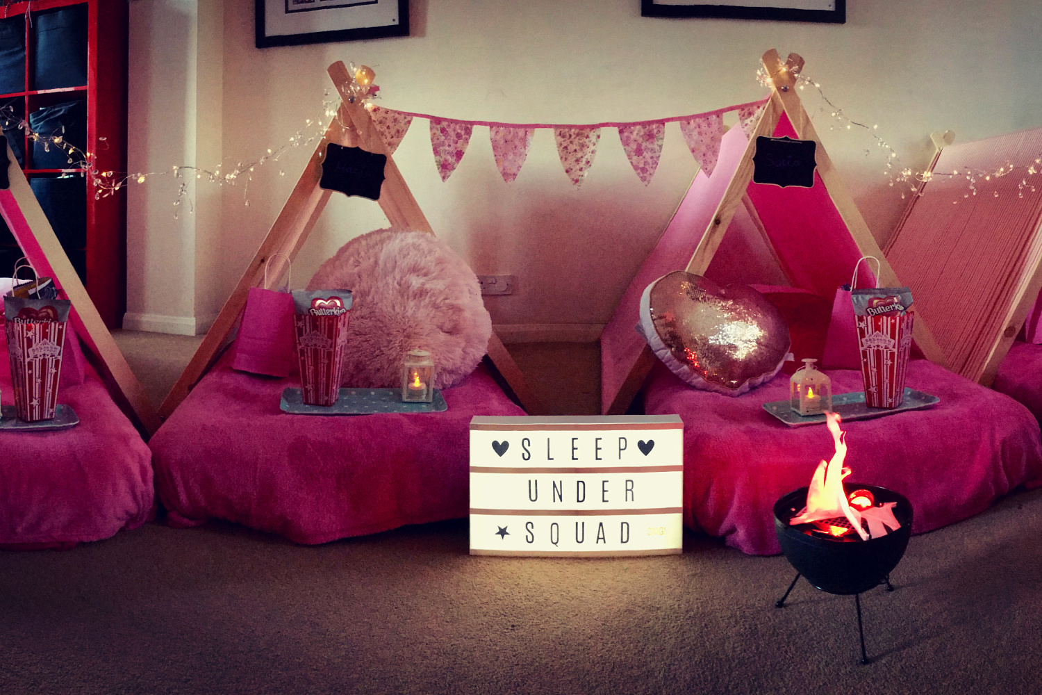 SLEEP OVER WITH SLEEPUNDER PARTIES – SURREY