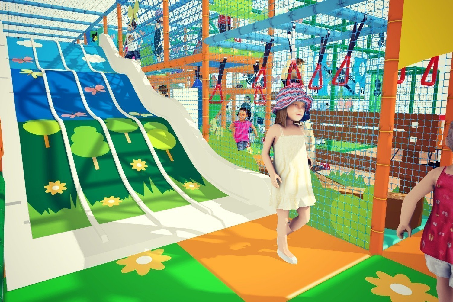CONFIRMED OPENING DATE FOR THE RAINBOW LEISURE CENTRE PLAY CENTRE