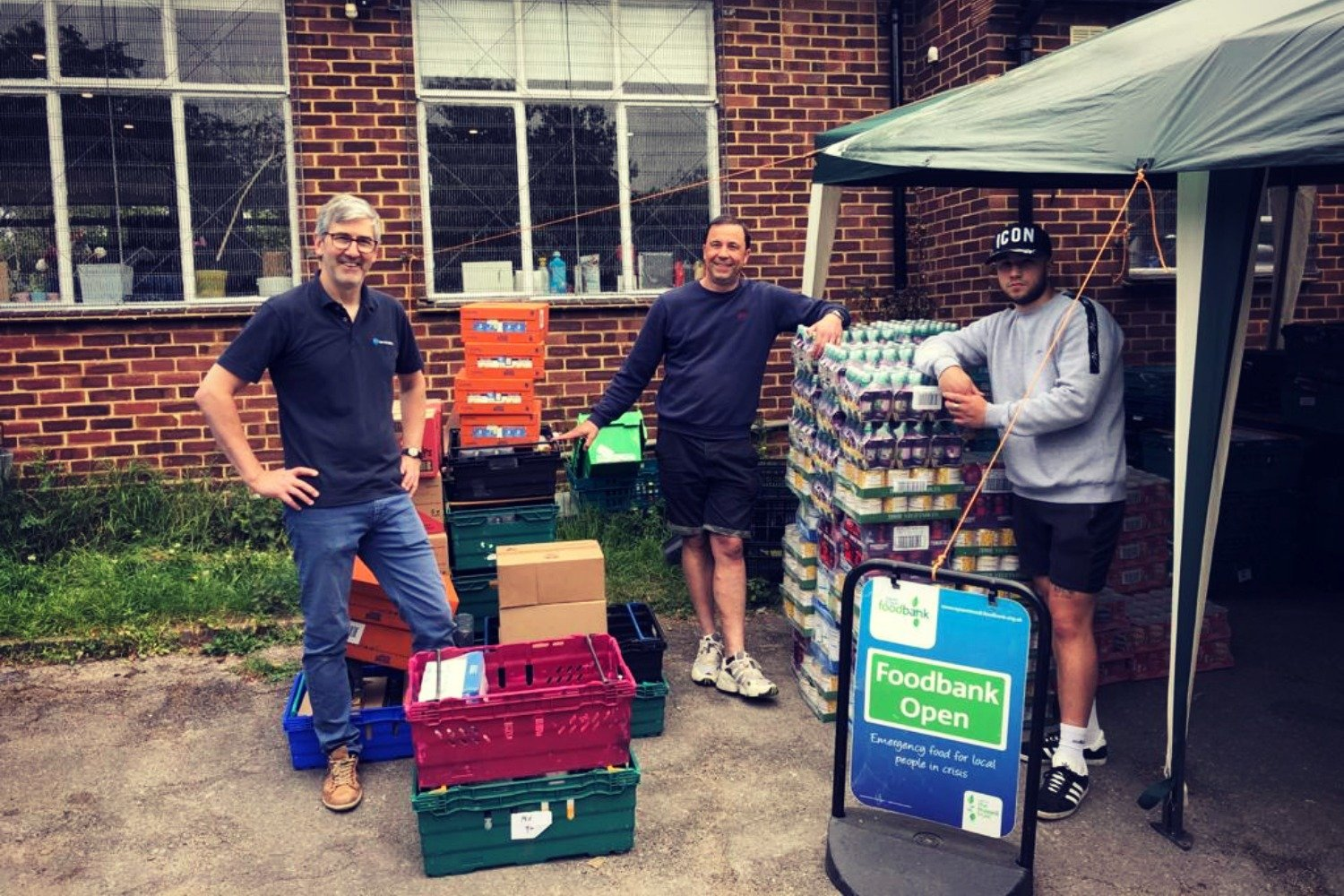 STAY POSITIVE – FACE BEHIND THE CHARITY, EPSOM AND EWELL FOODBANK