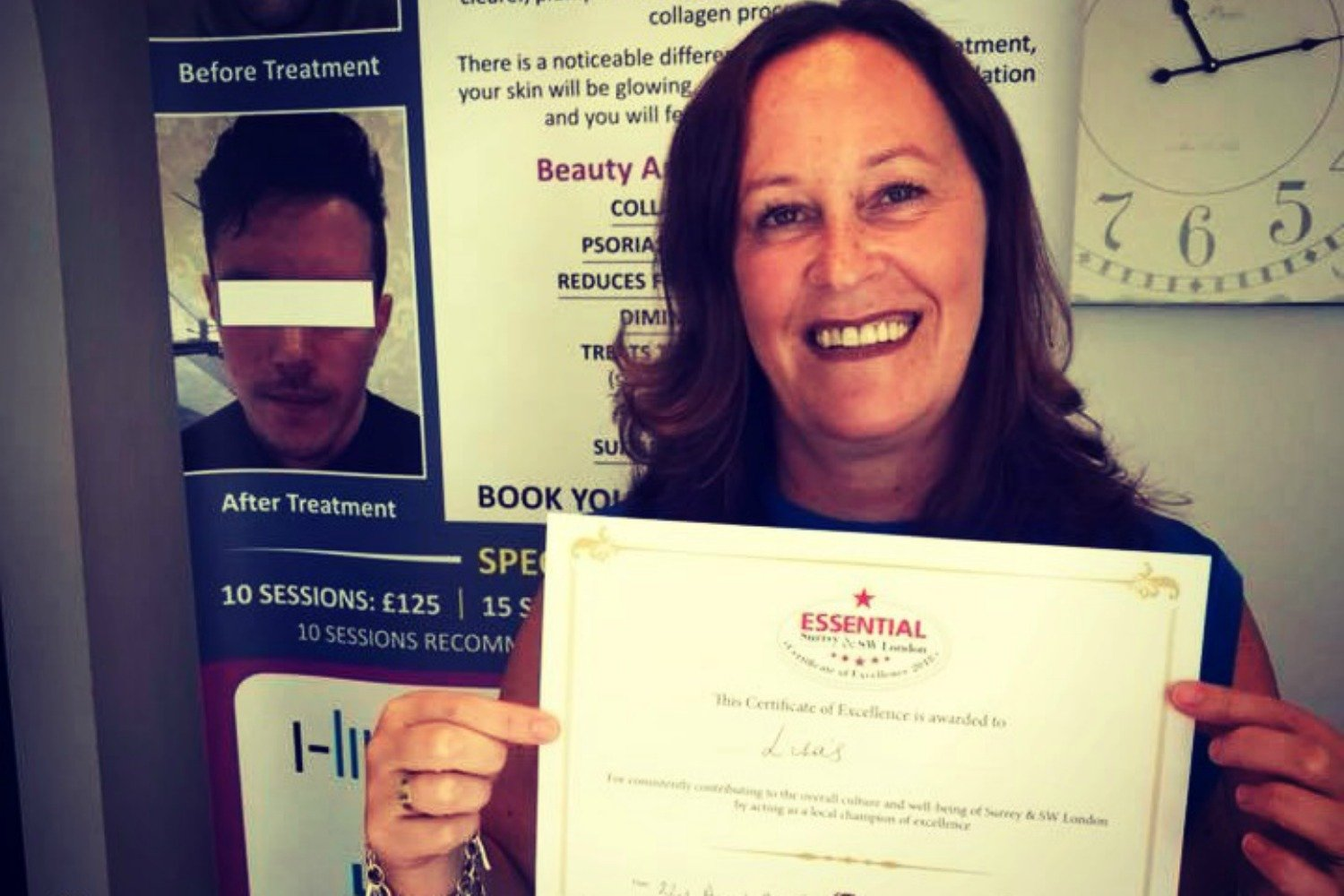 STAY POSITIVE- FACE BEHIND THE BUSINESS, LISA'S, EWELL VILLAGE