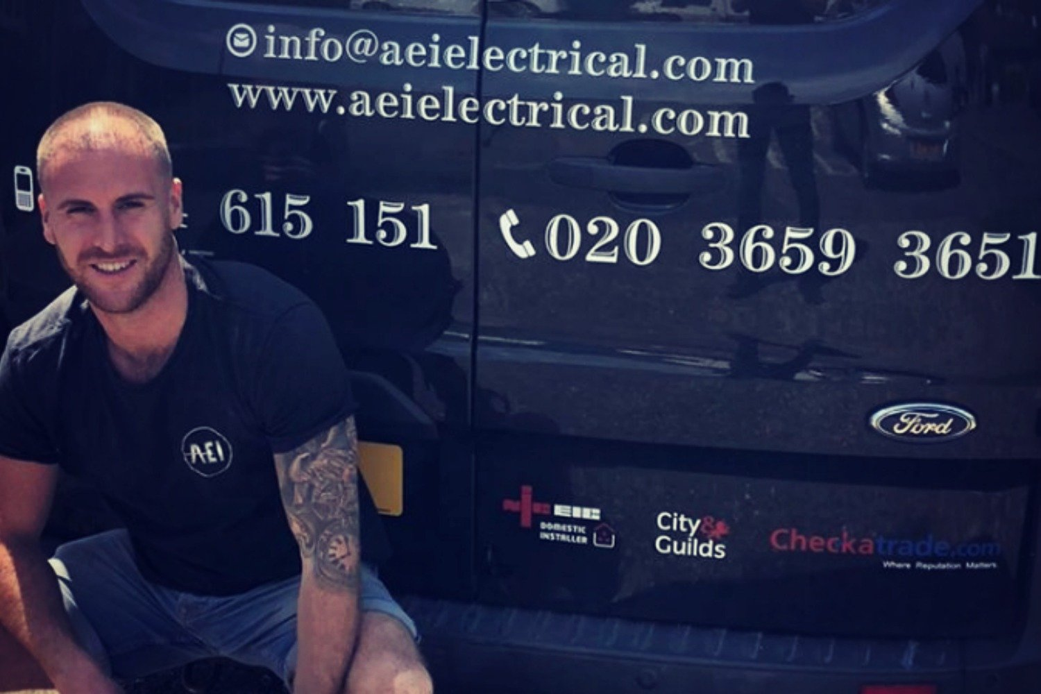 STAY POSITIVE – FACE BEHIND THE BUSINESS, AEI ELECTRICAL