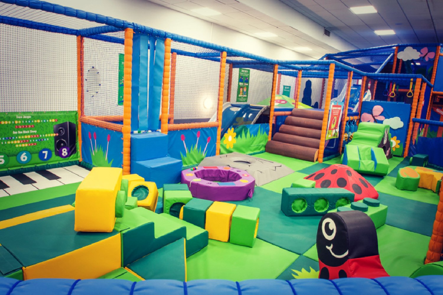 CHILDREN'S PLAY PARK TO RE-OPEN AT THE RAINBOW LEISURE CENTRE & SPA, EPSOM