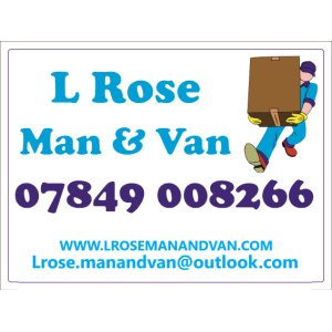 L Rose Man & Van
