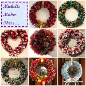 Michelle Makes These – Christmas Wreaths