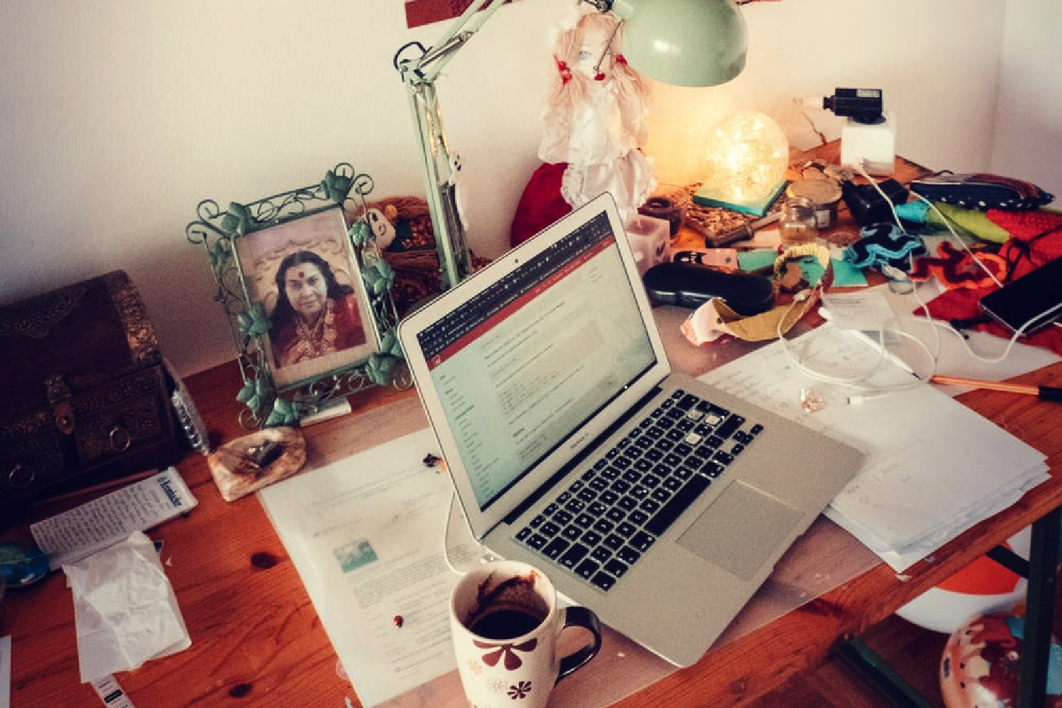 WORKING FROM HOME OR LIVING AT WORK?