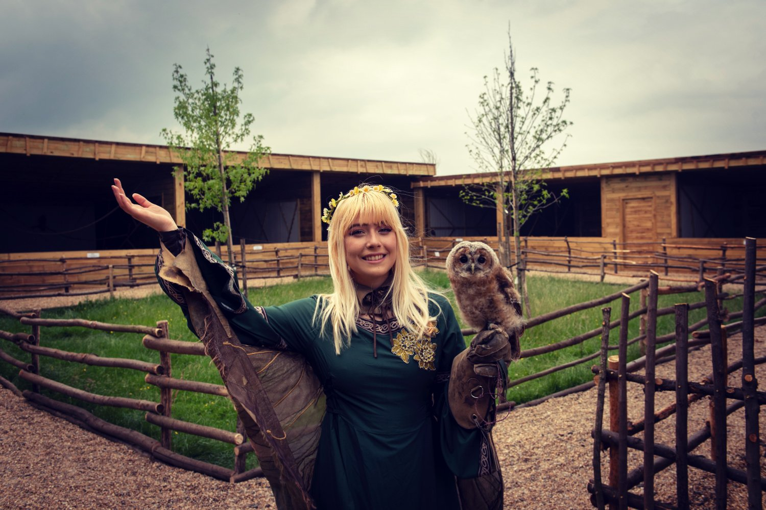 BABY OWLS AT THE NEW RAPTOR CENTRE @ HOBBLEDOWN…