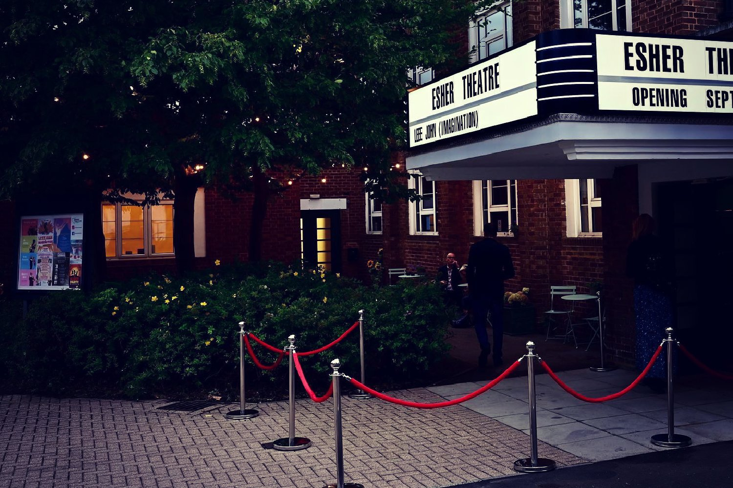 THE ESHER THEATRE, WHAT'S IT ALL ABOUT…